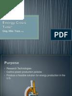 Energy Crisis Time!