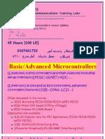 Micro Controller Course Contents