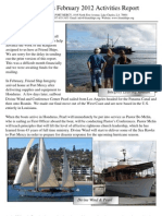 Friend Ships Activities Report for February 2012