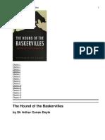 3) the Hound of the Baskervilles - Novel
