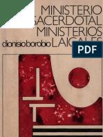 Borobio Dionisio - Ministerio Sacerdotal Ministerios Laicales (Scan)