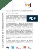 Documento Cumbre Americas 2012
