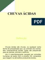 Chuvas Acidas PPT