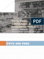 Pots, Pans, Containers and Measuring Tools Primlab