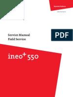 Ineo-plus 550 451 Field Service DDA00J-M-FE1