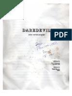 Daredevil Proposal