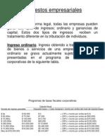 Impuestos empresariales