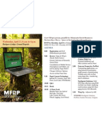 MFRP Technology in the Woods Flyer 11apr2012