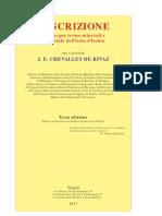 Chevalley De Rivaz, Descrizione delle acque termominerali e delle stufe d'Ischia (1837)