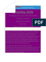 Attending Skills