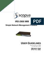 mib IRD-2900_SNMP_Rev._4.6