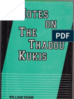 Notes on the Thadou kuki