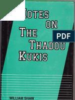 Notes on the Thadou kuki