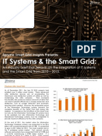 [Smart Grid Market Research] IT Systems and the Smart Grid, January 2012