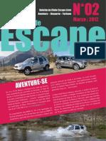Boletim Nº2 - Escape Livre