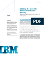 Utilising the Cloud IBM
