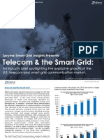 [Smart Grid Market Research] Telecom and the Smart Grid, January 2012