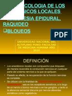 Anestesicos Locales Diapositivas