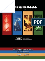 2012 AAED Spring Conference Program Final DRAFT (1)