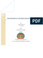 Multi Particulate Drug Delivery System