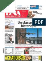 Dernières Nouvelles Alsace - Christian Bach - 13 mars 2012