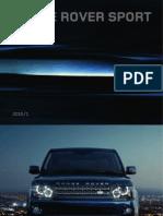 Range Rover Sport 2010 Brochure UK