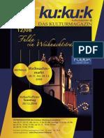 kukuk-Magazin, Ausgabe 12/2008
