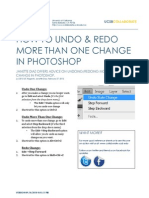 How to undo & redo more than one change in Excel