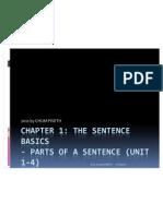 1. Sentence Basin (1-4)