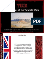 Big Causes of Taranaki War