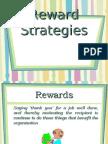 Reward Strategies