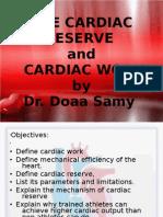 Cardiac Reserve Student
