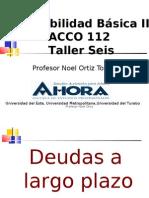 Taller Seis ACCO 112