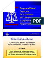 Responsabilidad Legal Por Los Accidentes