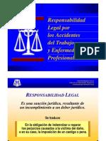 Responsabilidad Legal Por Los Accidentes