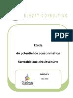 Synthèse étude CUS circuits courts