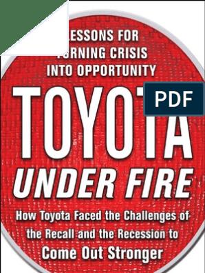 toyota | Toyota | Leadership