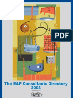 Consultants Directory