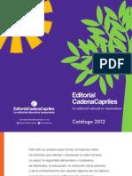 Catalogo de productos de la Editorial Cadena Capriles, editorial educativa venezolana