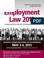 2012 Employment Law Conference