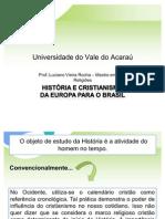 Introdução do cristianismo no Brasil