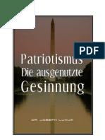 Patriotismus Die ausgenutzte Gesinnung