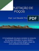 Completação de poços de Petróleo - Eng. Luiz Eduardo Trindade