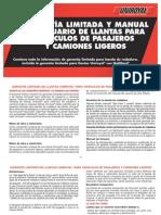 Uniroyal Spanish Warranty