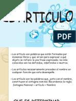 EL ARTICULO Diapositivas as
