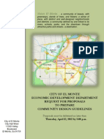 RFP for Community Design Guidelines