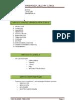 Metodos de Exploracion Clinica Semiologia