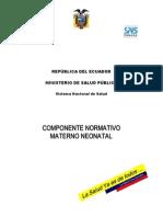 COMPONENTENORMATIVO  MATERNO NEONATAL