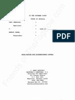 GA - 2012-03-12 - SWENSSON v OBAMA (Appeal SCOGA) - Application for Discretionary Appeal