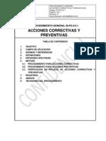 DI-PG 8.5.1 Acciones Correctivas y Preventiva 08-02-2010
